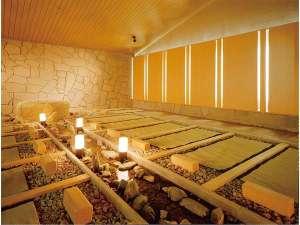 母畑温泉 八幡屋:低温サウナなのでゆっくりと温まれます。