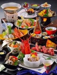 母畑温泉 八幡屋:調理長厳選!特選食材満載の最高級コース