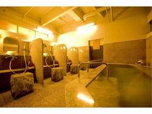 ホテルブリスベンズ:ブリスベンズ1階 光明石の人工温泉(男性専用)17時~23時無料で御利用できます。