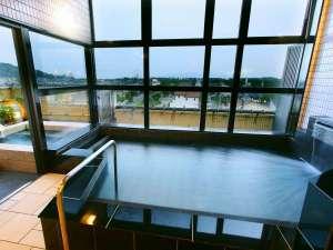 赤穂温泉 鹿久居荘(かくいそう) 赤穂店:赤穂の塩辛い温泉 4階お風呂!