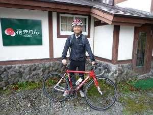 花きりん:自転車って!ほんといいですね!