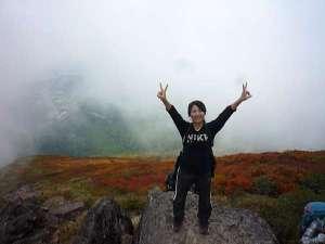 花きりん:磐梯山の紅葉⑥