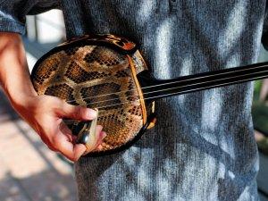 【三線教室】独特の旋律が心地よい、沖縄の三線を弾いてみませんか?(毎週金曜)