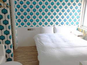 ザ・ホテルノース大阪:デラックスダブル♪ゆったりしたスペースのお部屋でごゆっくりとおくつろぎください。