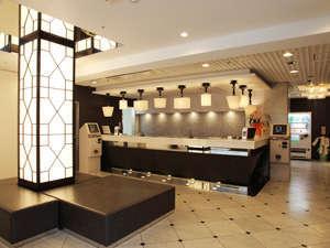 ザ・ホテルノース大阪:ロビー&フロント♪充実した環境に心のこもったおもてなし!安らぎを添えて24時間お客様をお迎え致します。
