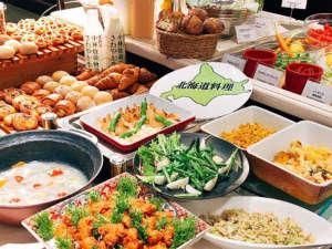 ホテルクラビーサッポロ:北海道の食材・メニューにこだわったクラビー自慢の朝食です。