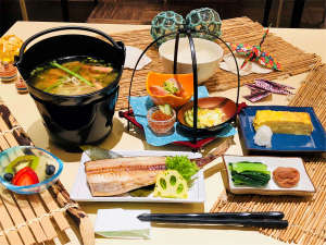 ホテルクラビーサッポロ:和定食『らいらっく膳』イメージです。