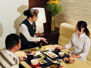 ホテルクラビーサッポロ:イル・モメントでの和朝食膳は、限定20名だからゆっくりとお召し上がりいただけます。