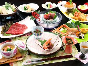 新甲子温泉 五峰荘:【華コース】和牛のお料理◆季節によりすき焼きや陶板焼きに変わります