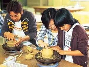 越前陶芸村でお子様と一緒に陶器作り♪