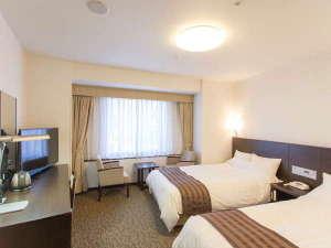 大阪第一ホテル:〇スーペリアツイン(広さ22.5~23.8平米)快眠いただける寝心地の良いベッドを使用