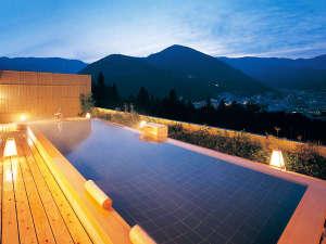 下呂温泉 ホテルくさかべアルメリア:★下呂温泉随一の絶景を誇る展望露天風呂