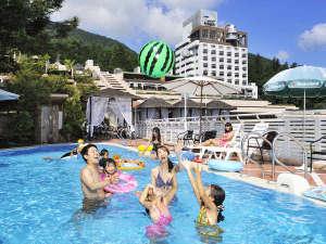 下呂温泉 ホテルくさかべアルメリア:★ご宿泊の方は無料!夏季限定屋外プール