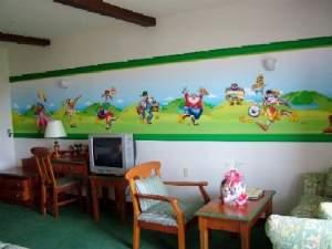 ホテル志摩スペイン村:キャラクタールーム禁煙