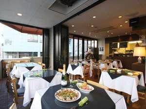 HOTEL ARIA 沼津 [ホテルアリア 沼津]:イタリアンレストラン「ピッツエェリア アレグロ」の店内の様子です