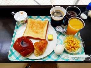 無料朝食盛り付け例(メニューは変更する場合がございます)