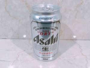 ビール付プランでお渡しするスーパードライです。