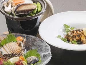 浄土ヶ浜パークホテル:3つの調理法から選べる鮑料理 イメージ