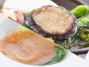 浄土ヶ浜パークホテル:【季節限定】鮑の酒蒸しとフカヒレ姿煮プラン