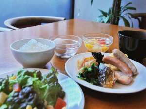 鯉城会館:朝食(和)
