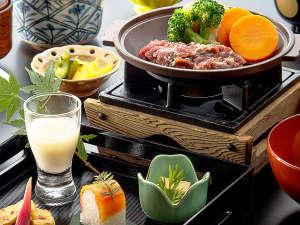 千丈温泉 岩魚と山菜料理の宿 清流(せいりゅう):【お料理イメージ】野趣あふれる白山ジビエや山菜、川魚など山の恵みをたっぷりと。