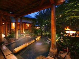 つなぎ温泉 愛真館:【夢枕の湯】今宵はこの湯に身を委ね、またたく夜空に心をとかしましょう。