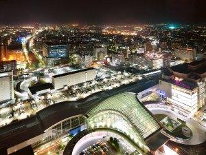 ホテル日航金沢:ごゆっくりと金沢の夜景を眺めながら、ホテルステイをお楽しみください!!(夜景一例)