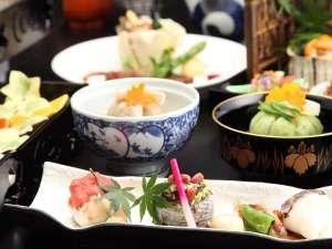 奈良町家 和鹿彩 別邸:懐石料理一例