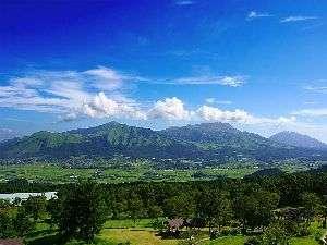 リラックスリゾート ホテルグリーンピア南阿蘇:【春・夏 眺望】緑が青々と茂る