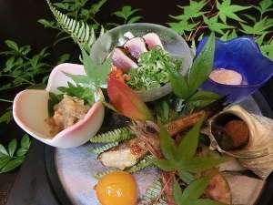 尾鷲シーサイドビュー:【前菜】季節の前菜一例