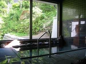 菅旅舘:源泉100%かけ流しが自慢のお風呂。滞在中いつでも入浴可能!