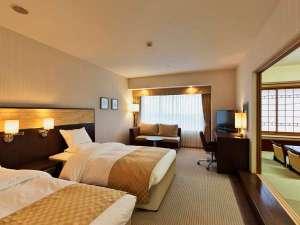 シーサイドホテル舞子ビラ神戸:■本館和洋室 和室6畳がついて広々54㎡ 明石海峡海側 ※各階1部屋づつ