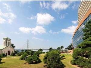 シーサイドホテル舞子ビラ神戸:■舞子ビラの周辺はお散歩にもGOOD☆明石海峡大橋がみえます。