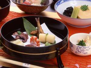 料理旅館 花楽:旬の京野菜提供店・・京料理会席一例
