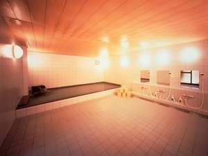 料理旅館 花楽:【お風呂】大浴場は人工炭酸泉・・よくあたたまると好評をいただいております