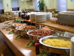 ☆1日の元気は朝食から!和洋食バイキングの朝食一例!十勝産の食材も使用しています☆