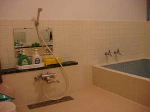 宿坊神林勝金:温泉ではなく沸かし湯です。