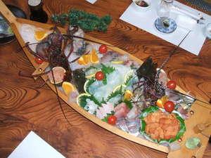 磯料理新鮮舟盛り 青い空:大舟盛り