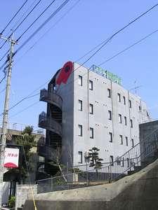 バジェットホテル博多南:ホテル外観