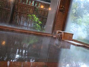 霧島温泉 純和風旅館 牧水荘:【大浴場】広々と手足を伸ばして温泉をお楽しみ頂けます。
