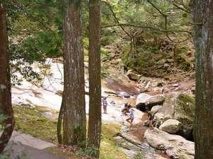 成川渓谷休養センター:*成川渓谷/高月山・梅ケ成峠に源流を持ち、約3kmにわたってすばらしい渓谷を形づくっています。