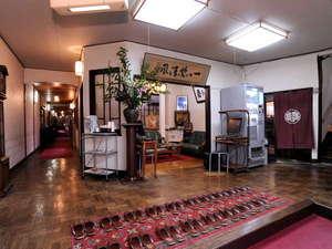 和風旅館 鹿島本館:大正時代の息吹を感じるロビー