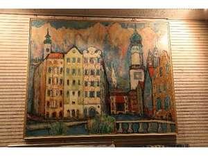 三恵シティホテル八王子:アートギャラリー、館内に飾ってあります★全部探してみてください♪