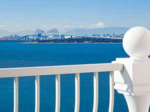 東京ベイ舞浜ホテル クラブリゾート:◇デラックスルーム:バルコニーからの眺望(イメージ/一例)