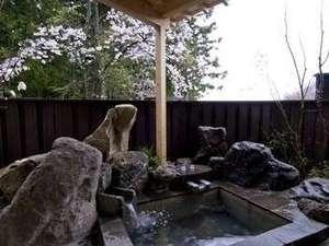 「本館 月の彩り」露天風呂付き客室【藍】露天風呂