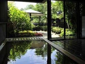 赤城高原温泉 山屋蒼月:大浴場薫り高い内湯