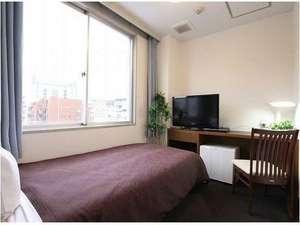 ホテルリブマックス東京木場:シングルルーム♪ベッド幅100×195cmです!
