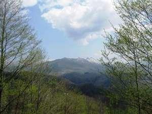 ※◆北湯沢の風景◆裏山からオロフレ岳を望む