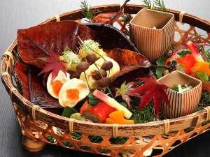 【料理評価4.6】旬の食材を味だけでなく、目でも楽しめる会席料理※お料理イメージ