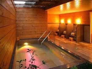 ビーチサイドホテル鹿島荘:鹿島の露天風呂